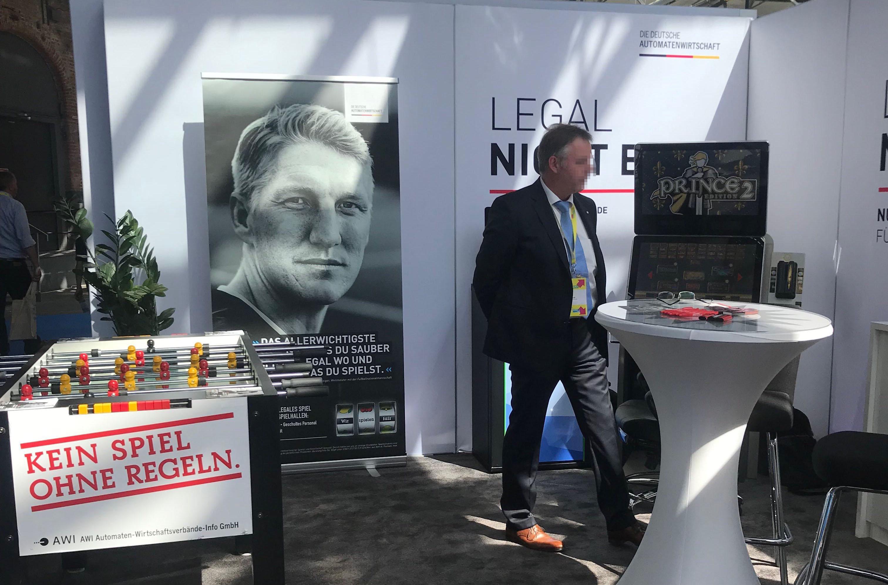 Stand der Deutschen Automatenwirtschaft (AWI) auf dem FDP-Parteitag