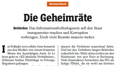 Screenshot SPIEGEL-Artikel