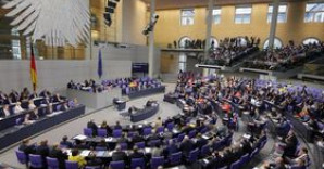 Foto: Plenum des Bundestages