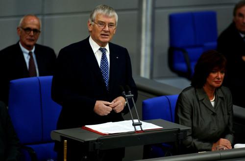 Der frühere SPD-Abgeordnete Otto Schily